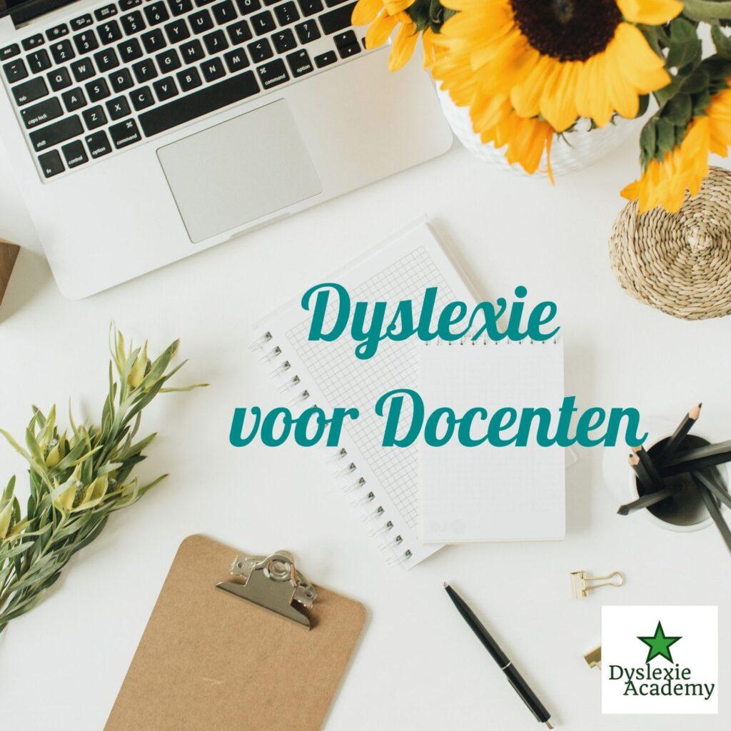 Dyslexie voor Docenten