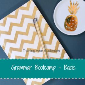 Grammar Bootcamp – Word een ster in grammatica