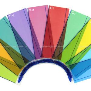 Leeslinialen – Gekleurd