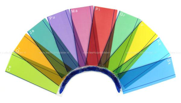 Gekleurde leeslinialen