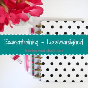 Examentraining – Leesvaardigheid