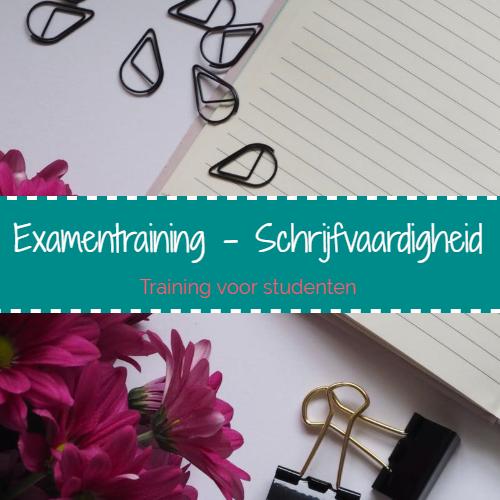 Examentraining - Schrijfvaardigheid