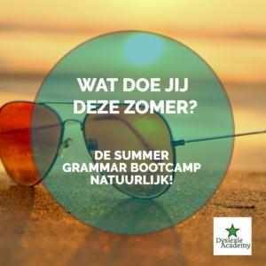Summer Grammar Bootcamp