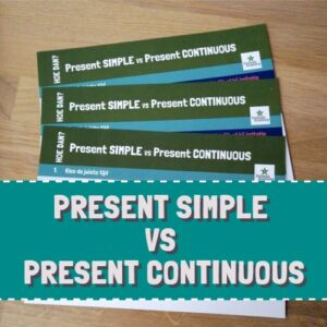 Hoe dan? present SIMPLE vs present CONTINUOUS
