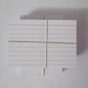 Flashcards voor de Kaartenbak