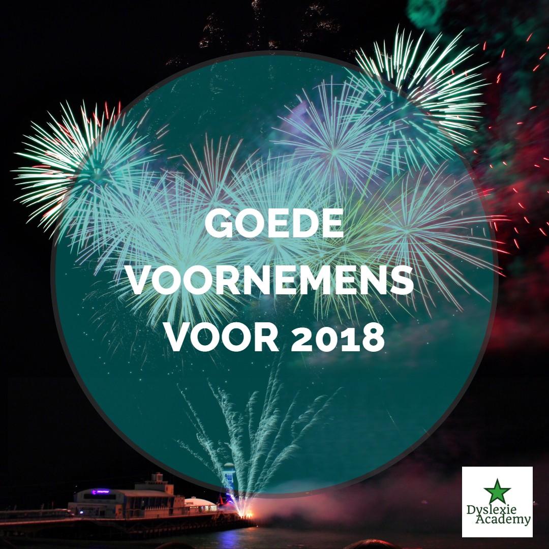 Goede voornemens – Wat wil jij bereiken in 2018?
