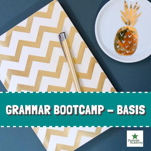 Grammar Bootcamp – Hoe leer je Engels met dyslexie?