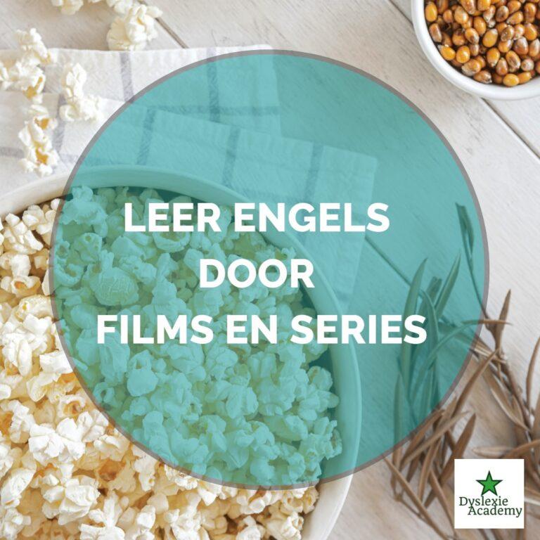 Leer Engels door films en series