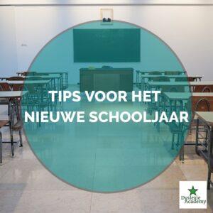 Tips voor het nieuwe schooljaar – Zo ben je er klaar !