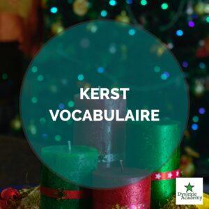 kerst-vocabulaire