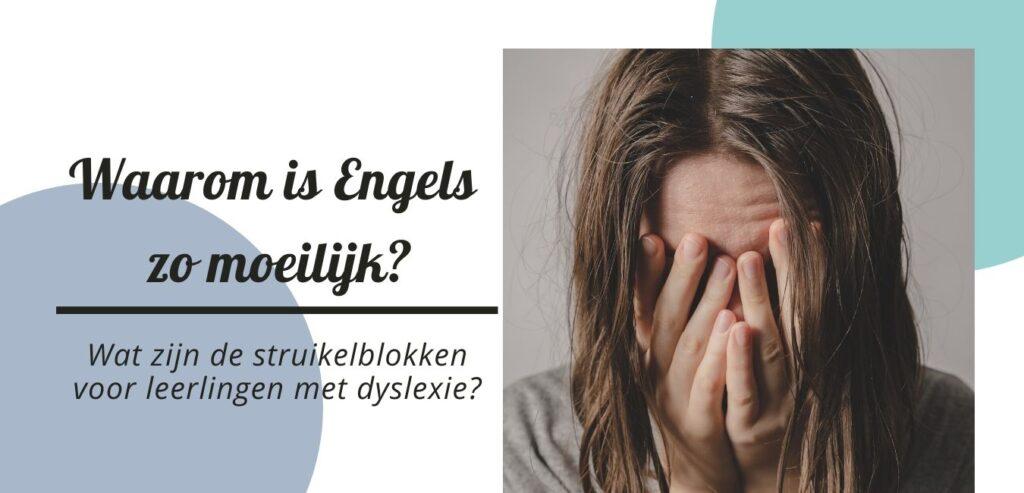 Waarom is Engels zo moeilijk