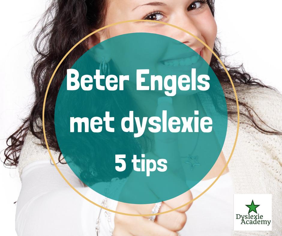 Lees meer over het artikel 5 tips voor beter Engels met dyslexie