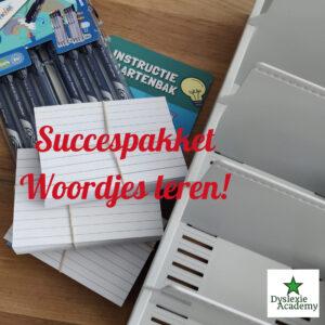 Succespakket Woordjes leren! In 5 vakken naar Succes